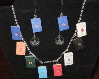Outlander Book Series Necklace - Great Gift for Book Lovers!