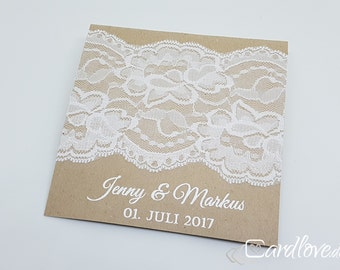 square invitation tips, including printing and envelope