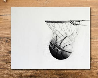 Basketball Nursery Decor - Basketball Nursery Art - Basketball Decor - Basketball Room Decor - Basketball Art