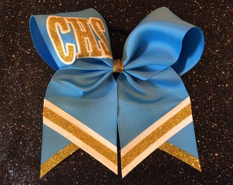 Cheer Bow Custom School Cheer Bow School Colors Cheer Bow Team Cheer Bows