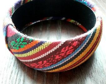 Mexican Style Bracelet, Mexican Bracelet, Boho Style Bracelet, Mexican Fashion, Mexican Bangle, Statement Bracelet, Arm Candy, Boho Chic