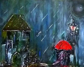 OOAK 'Chapel Rain'