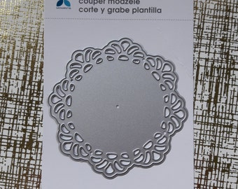 Doily Die Cuts Cutting Template Sizzix CuttleBug Spellbinders Paper Craft Supplies