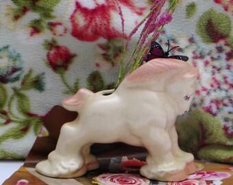 Pony Horse Planter,  Ceramic Horse Planter, Horse Figurine Flower Pot, Nursery Decor