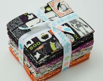 Eek Boo Shriek Fat Quarter Bundle by Carina Gardner for Riley Blake Designs