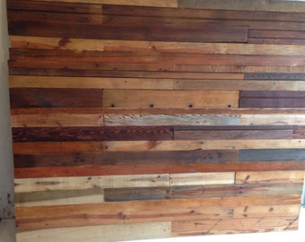 Reclaimed Wood Headboard- Queen
