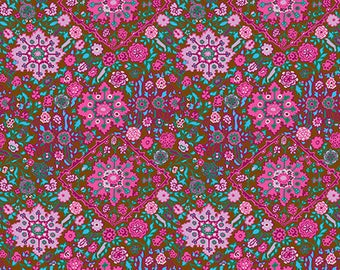 Inner Vision in Cocoa by Amy Butler from the Soul Mate collection for Free Spirit #CPAB002.8Coco by 1/2 yard