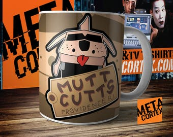 Dumb and Dumber Jim Carrey - Mutt Cutts Dog Van Movie Mug