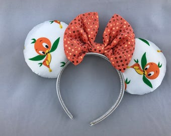 The Orange Bird Minnie Mouse Ears