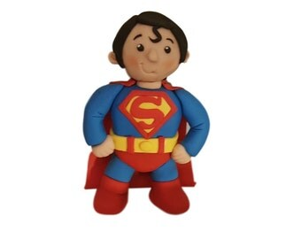 superman edible cake topper decoration