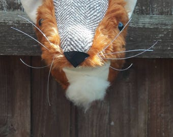 Fake Animal Head Etsy