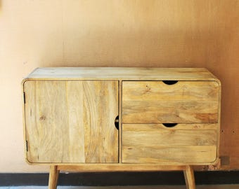 Convenient retro wood