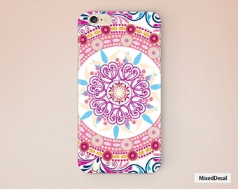 iPhone 6 Plus Case back Cover Pink  iPhone 7 Case  Pattern Protector
