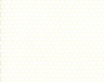 Basics - Bliss Dot Cream Bonnie and Camille for Moda, 1/2 yard, 55023 38