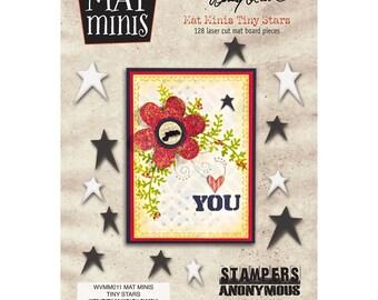 Mini Star Scrapbooking Embellishments- Wendy Vecchi Mat Mini