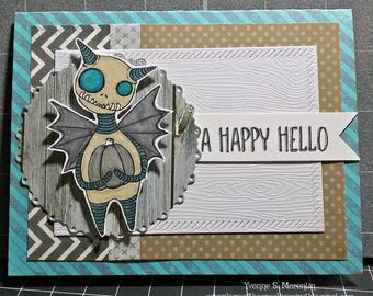A Happy Hello.. Greeting Card...