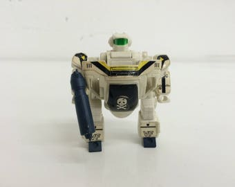 Macross / Robotech Roy Falker's Super Deformed Skull leader Veritech Fighter - 1980's