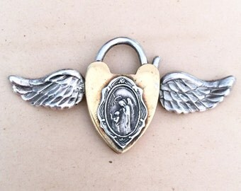 Made to order winged heart