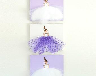 Baby Girl Nursery Decor Ballerina Art Baby Girl Nursery Wall Art Girl Nursery Art Ballet Art Ballerina Painting Dancer Painting Purple Pink