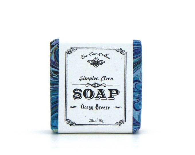 Ocean Breeze Simplee Cleen Fresh Guest Soap