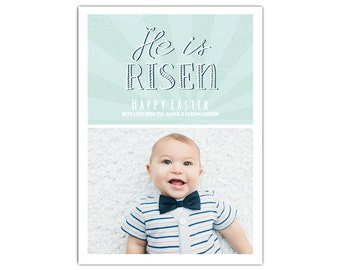 Custom Photo Easter Cards // Printable Easter Card // Easter Greeting Cards // Easter Cards with photo // Easter Photo Cards // The Morden