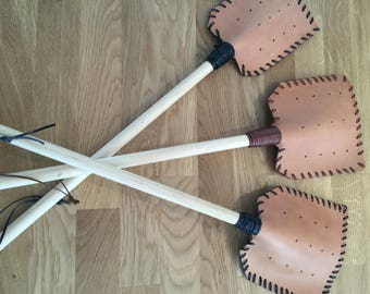 Handmade Leather Fly Swatters