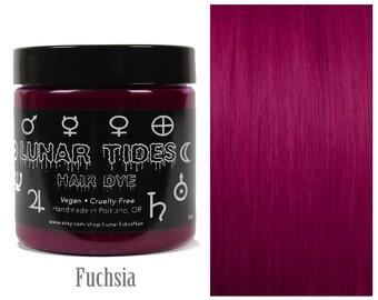 Dark Fuchsia Pink Hair Dye
