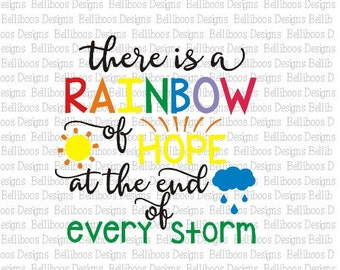 Rainbow Baby svg - Rainbow Baby cut file - Rainbow svg - Rainbow cut file - hope svg - hope cut file - Rainbow of Hope