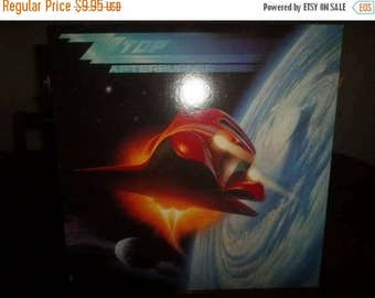Save 30% Today Vintage 1985 LP Record ZZ Top Afterburner Warner Brothers Records Near Mint Condition 4838