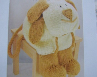 Dog Rucksack Knitting Pattern In Chunky