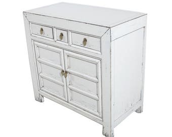 White Vanity Small Cabinet from Terra Nova Designs