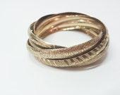 Vintage bracelets entrela...