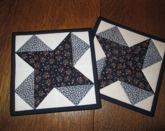 Quilted Potholders / Hotpads / Mug Rugs / Candle Mats / Trivets / HP113