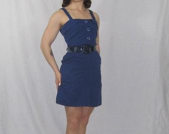 Retro Navy Sailor Dress