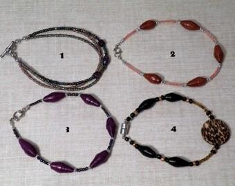 Adult Ankle Bracelet/Anklet Foursome