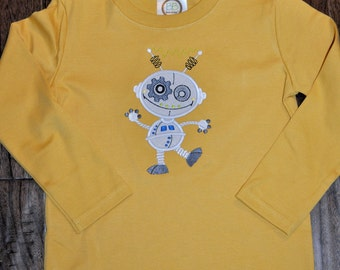 Robot Applique Shirt