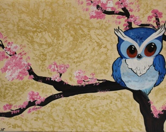 Owlie 11x17 print