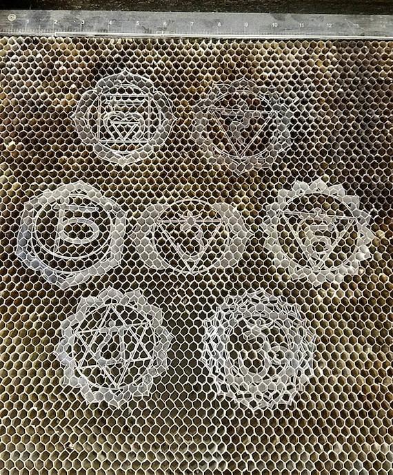 Mini Chakra Stencil Set
