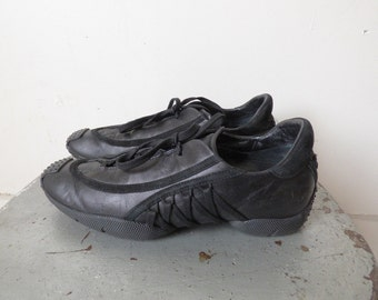 Dior Black Leather Sneakers size 37