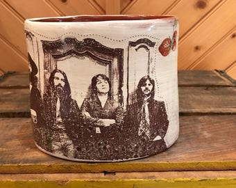 Beatles Oval Vase