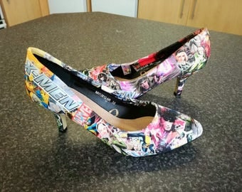 Custom Made to Order X-Men High Heels