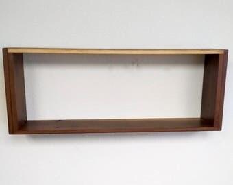 Floating Box Shelf floating box shelf | etsy