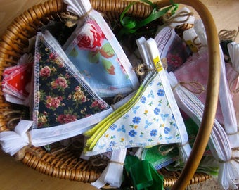 Baskets of beautiful bunting for any occasion!  Make a choice!