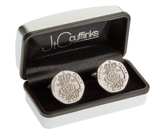 2006 coin cufflinks mens 11th wedding anniversary gift (steel) in 2017