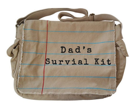 messenger diaper bag for dad dad 39 s survival. Black Bedroom Furniture Sets. Home Design Ideas