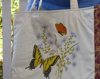Bag with butterflies (free postage in Australia)