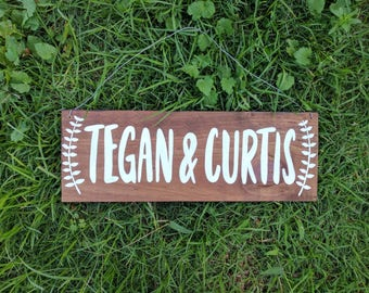 Personalised Wedding Sign, Welcome Sign, Wedding Signage, Painted Sign, Rustic Wedding Sign, Wedding Props, Wedding Decor | 40cm x 14cm |