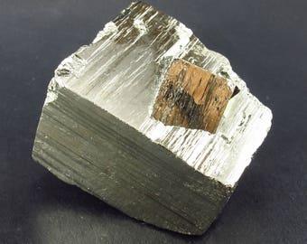 """Pyrite Cluster From Peru - 1.7"""""""