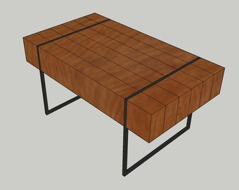 Block coffee table with hidden storage blueprint plans for block coffee table with hidden storage please read description prior to purchase malvernweather Choice Image