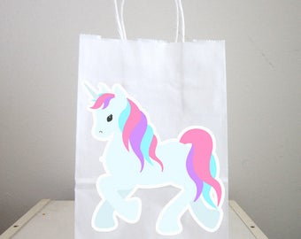 Unicorn Goody Bags, Unicorn Party Bags, Unicorn Favor Bags, Unicorn Party, Unicorn Birthday 819171034A